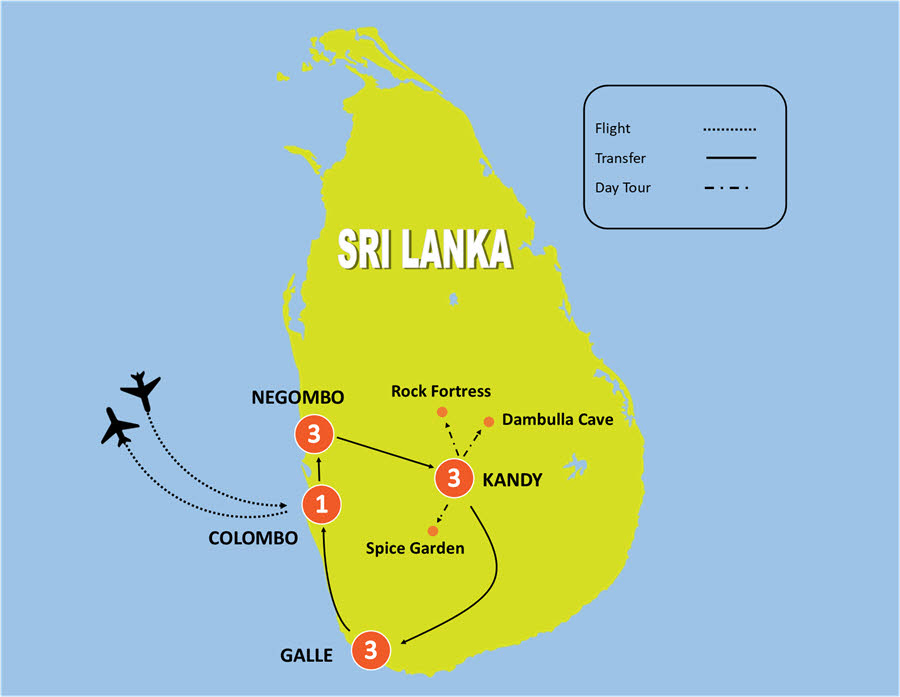 11 Day Luxury Wellness and Yoga tour in Sri Lanka