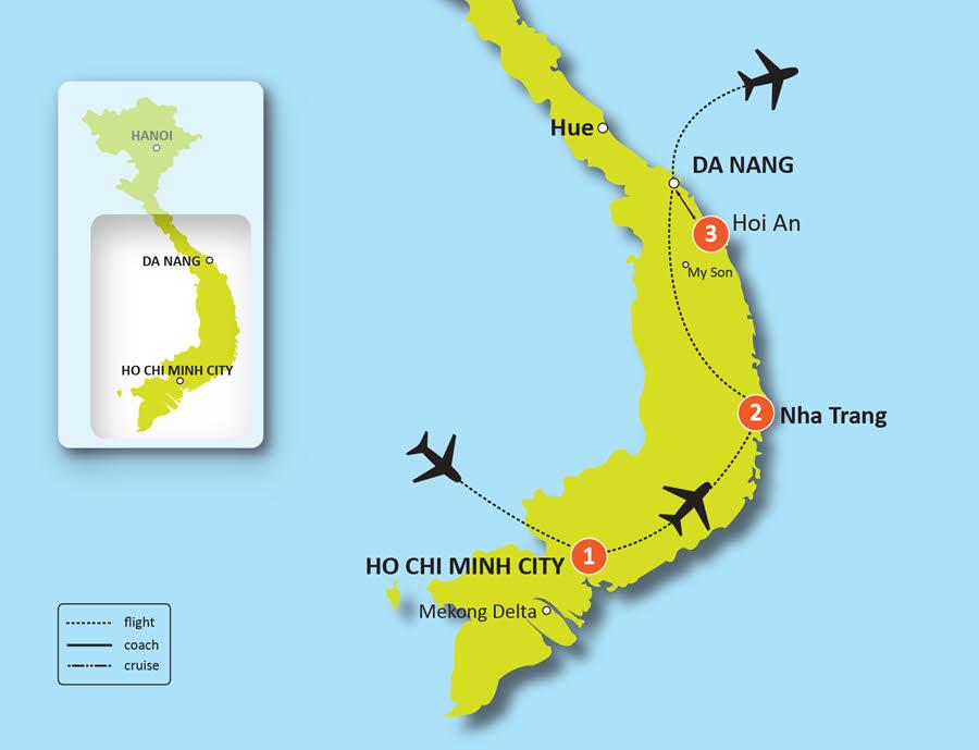 LUXURY GOLF PACKAGE CENTRAL VIETNAM: NHA TRANG & HOI AN