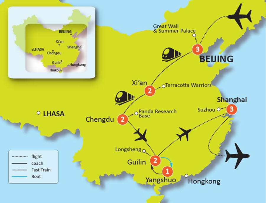 14-DAY BEST OF CHINA TOUR