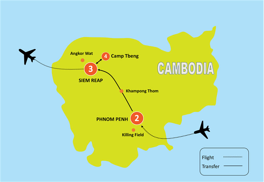 CAMBODIA EXPLORER SCHOOL TOUR