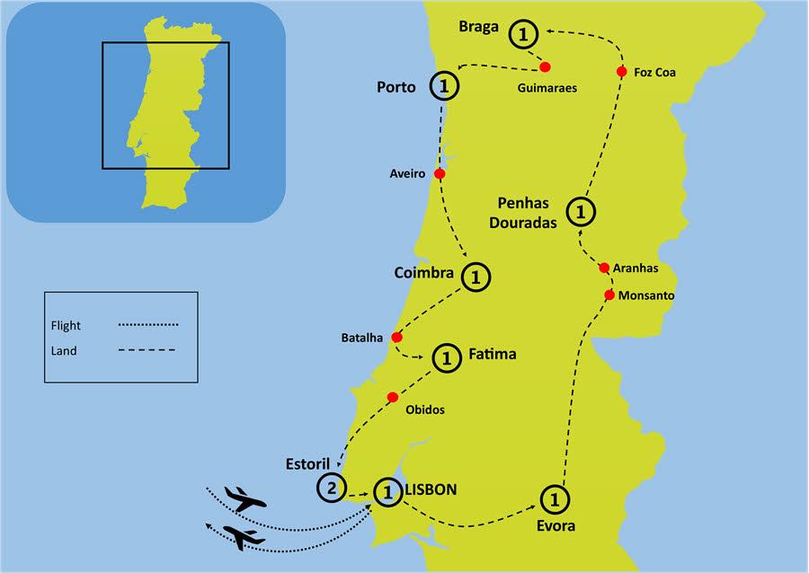 PORTUGAL ULTIMATE LUXURY HERITAGE ESCORTED TOUR
