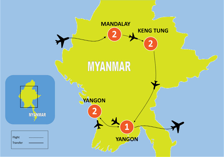 8-DAY Myanmar Discovery Tour
