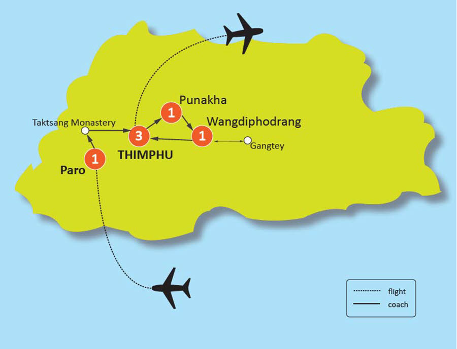 7 DAY SHANGRILA'S DELIGHT CULTURAL TOUR IN BHUTAN