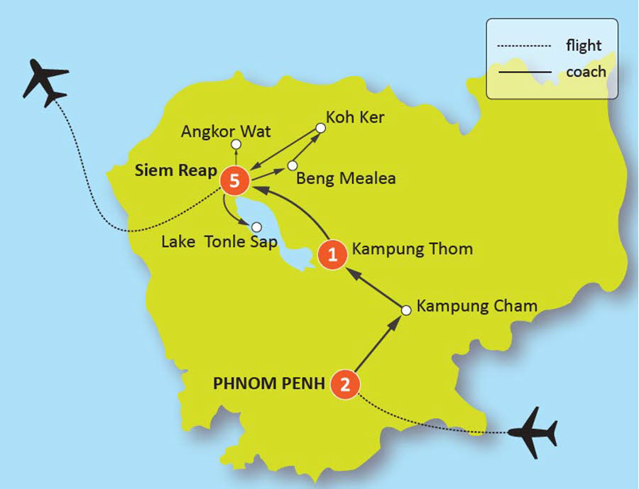11-DAY CAMBODIA HIGHLIGHTS TOUR