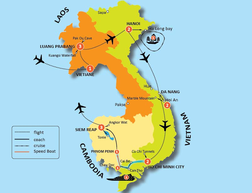 20-DAY BEST OF INDOCHINA TOUR