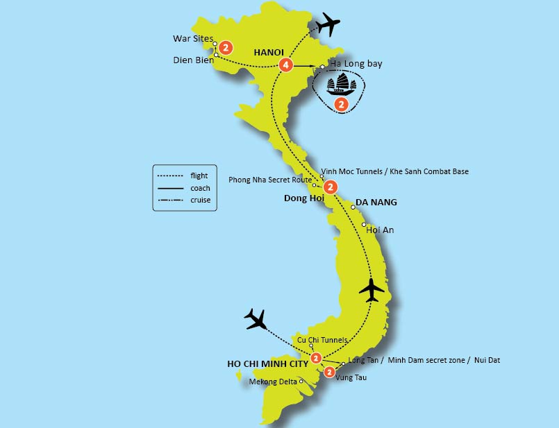 17-DAY VIETNAM BATTLEFIELD TOUR