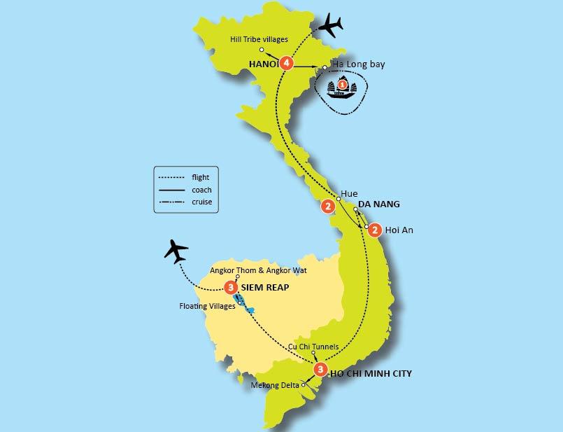 16-DAY VIETNAM & CAMBODIA SCHOOL TOURS