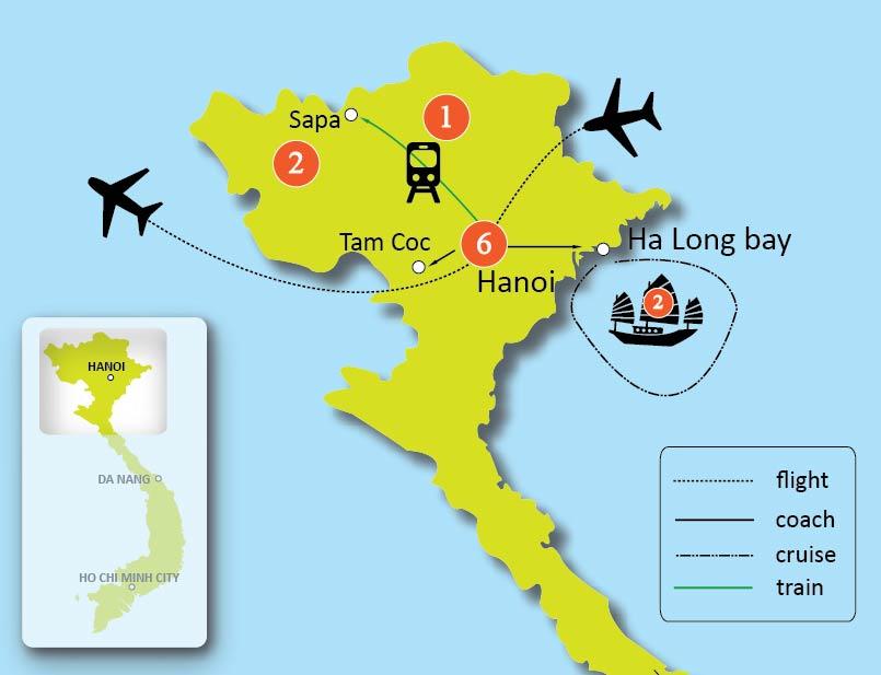 12-Day Highlights North Vietnam