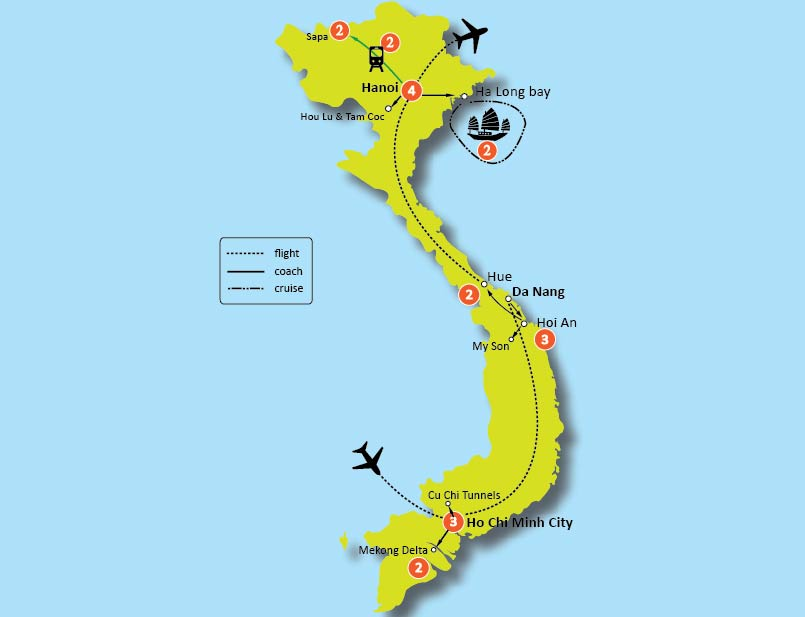21-Day The Best Of Vietnam Tour