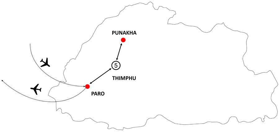 Wonders of Bhutan luxury Tours