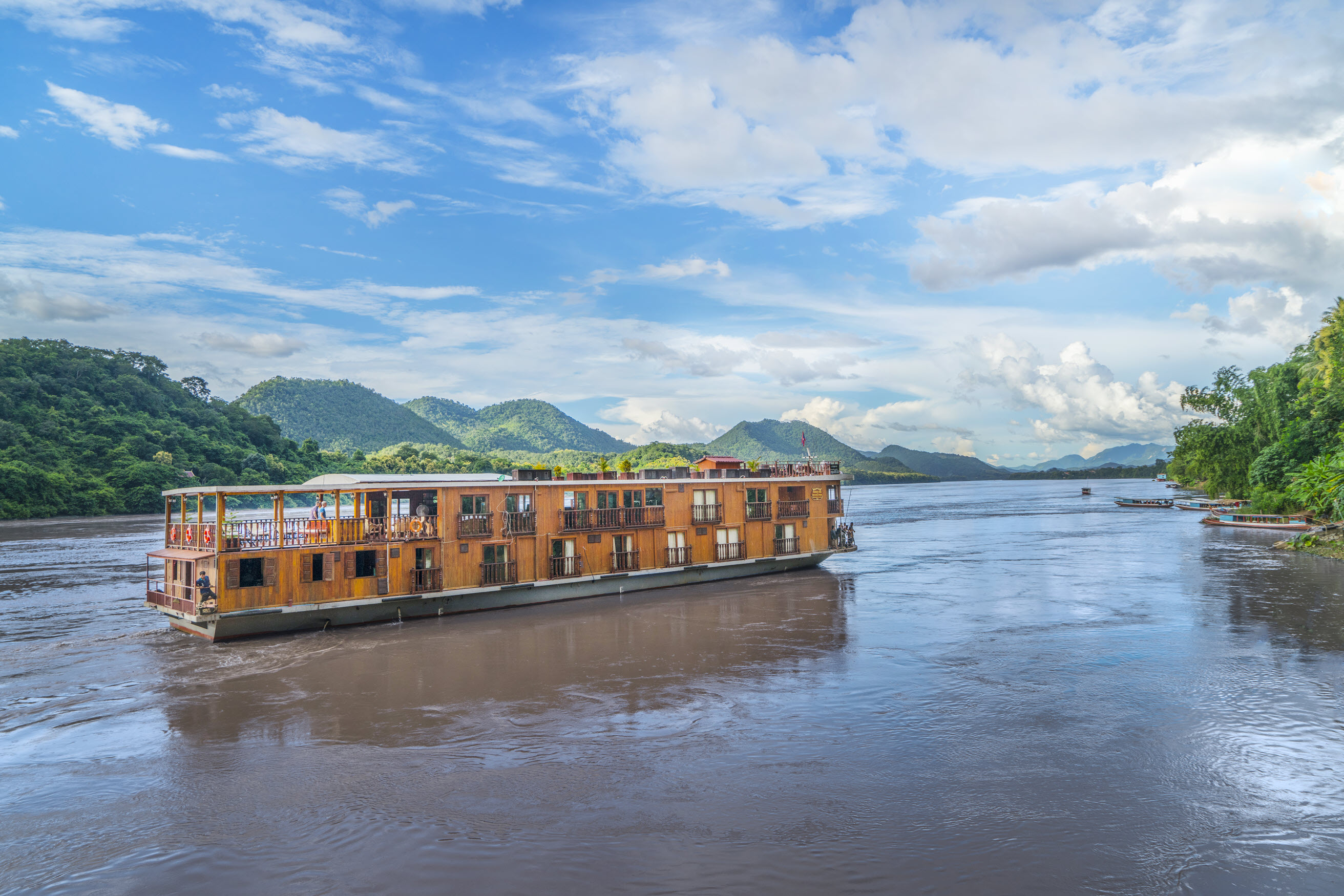 10-Day Impressions Mekong River Cruise in Laos and Cambodia Tour