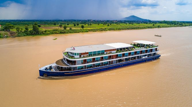 Luxury Mekong River Cruise & Angkor Temple Discovery