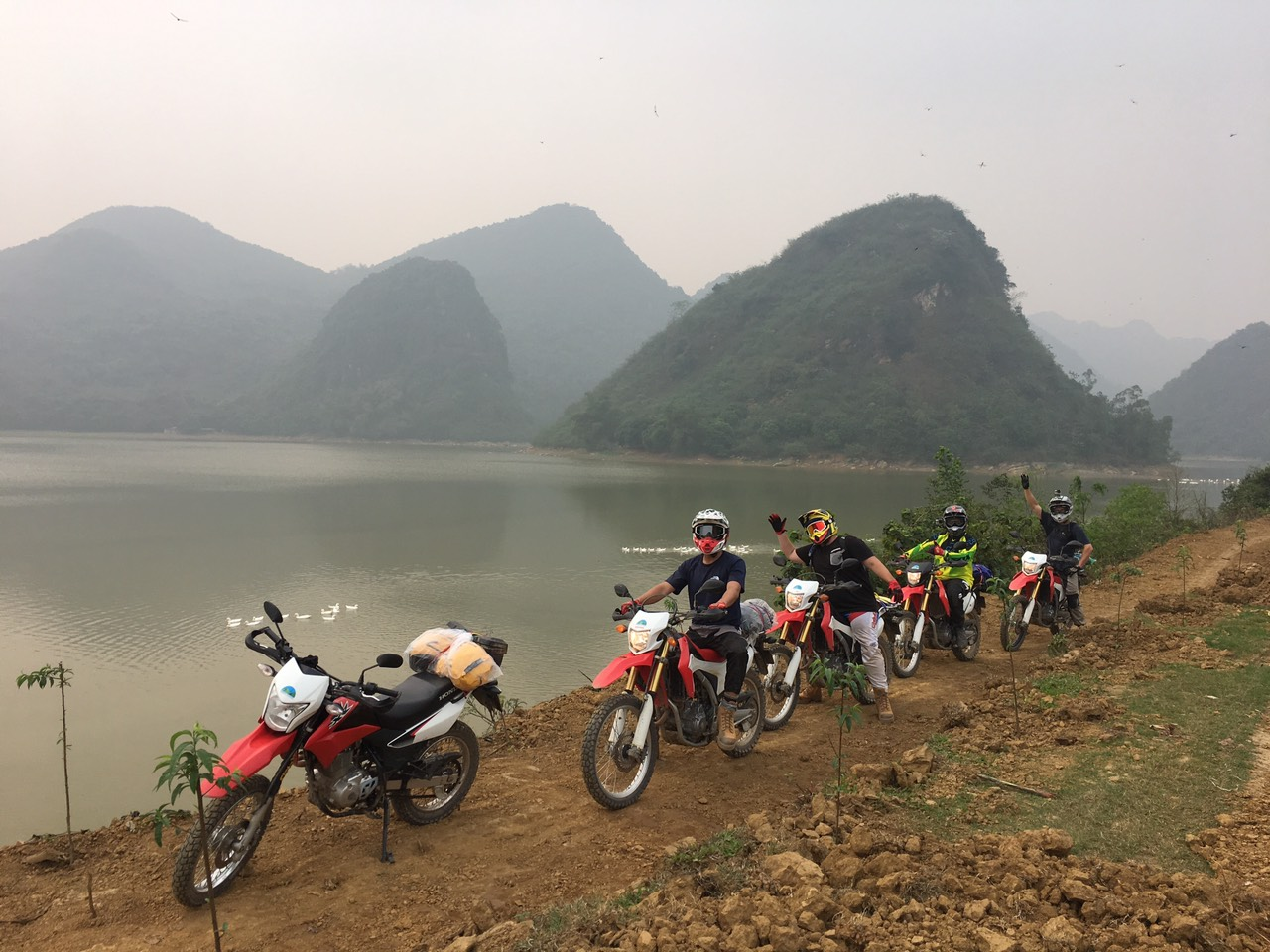 4-Day Northern Vietnam Motorbike from Vu Linh to Ba Be Lake